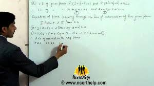 find the equation of the plane passing through the line of intersection of the planes and parall