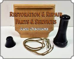 most of our antique telephone parts are original we do carry some reion parts in cases where original parts are nowhere to be had