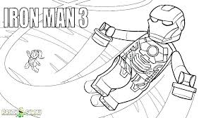 Iron Man Infinity War Suit Coloring Pages