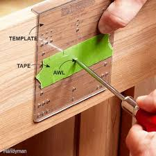 Diy Cabinet Knobs How To Install Cabinet Hardware The Family Handyman