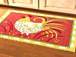 rooster runner rug round rugs high country 4 x 5 area