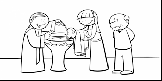 Small Picture Superb John Baptism Jesus Coloring Page With Baptism Coloring