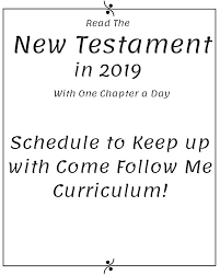 New Testament Reading Chart 2019 New Testament Reading Schedules And Charts
