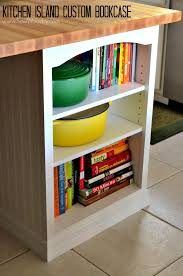diy bookcase kitchen island. Good Kitchen Island Custom Bookcase Video Tutorial Created For Homesdot By SewWoodsy DIY Diy