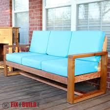 diy outdoor sofa. Picture Of DIY Modern Outdoor Sofa Diy