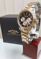 mens rotary watch two tone rotary men s two tone gold plated watch chronograph watch rrp£180 boxed