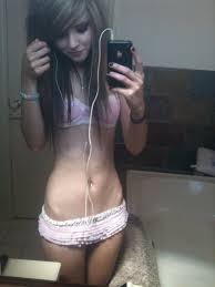 Her beautiful teen body and
