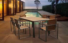 modern outdoor dining furniture. Beautiful Furniture Modern Outdoor Dining Table Patio Dennis Futures For Furniture Inspirations  5 Inside E