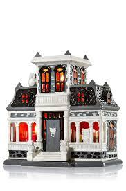 Bath And Body Works Halloween Night Light Ceramic Haunted House Mini Candle Luminary Home Fragrance