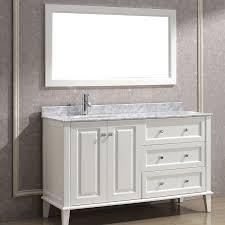 48 inch bathroom vanity right side sink lovely bathroom 52 contemporary 43 inch bathroom vanity sets