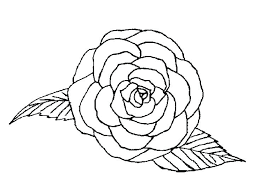 Color Pages Of Flowers And Roses Free Printable Rose Ng Pages