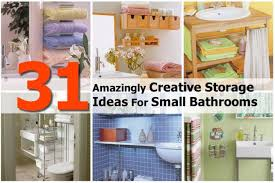 towel holder ideas for small bathroom. 31 Genius Storage Ideas To Organize A Small Bathroom Towel Holder For N