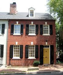 red front door on brick house. Red Brick House With Door My Web Value Front On