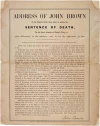 john brown s final speech the gilder lehrman institute of john brown ldquoaddress of john brown to the virginia court
