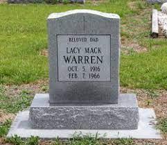 Lacy Mack Warren (1914-1966) - Find A Grave Memorial