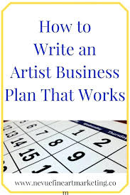 Online Business Plan Template Free Download Art Gallery Business Plan Template