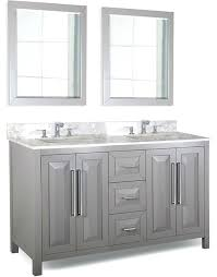 60 bathroom vanity hardware resources double inch grey cabinet optional single sink menards