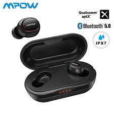 Online Shop Mpow T5/M5 M-Free <b>Aptx TWS Earphone</b> Bluetooth 5.0 ...