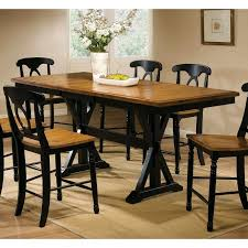 Winners ly Quails Run Counter Height Dining Table with 18 in