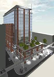 office building design. 800 western avenue office building design