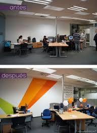 designs ideas wall design office. BMC Software Corporate Office Design (paint And Decal Only Makeover) /  Transformación De Oficinas Designs Ideas Wall