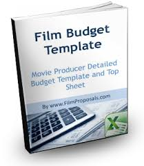 Film Budget Template | Sample Movie Production Budgeting Spreadsheet