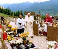 Camminiamo insieme per ricordare Giovanni Paolo II a Stava il 17 luglio 1988