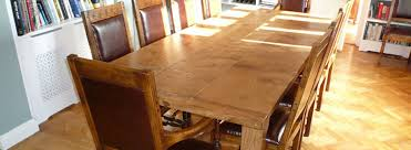 dining table and 8 chairs kent. traditional handmade refectory table in oak dining and 8 chairs kent t