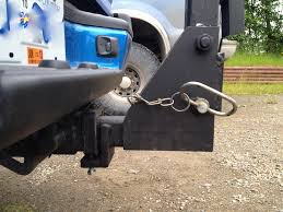 home made bike rack hinged receiver to open tailgate receiver lock to prevent rattling
