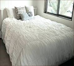 duvet cover covers willow blush full queen city dkny white ruffle