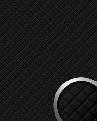 Muurpaneel Wandbekleding Zelfklevend Behang Zwart Wallface 15029 Rombo Wandpaneel Leer Design Ruiten Motief 260 M2