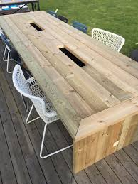 diy outdoor table with cooler. Medium Size Of Outdoor:ice Cooler Table Diy Outdoor Wood Plans Deck Furniture With