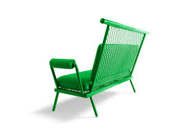 brightly painted furniture. Paulo Kobylka Designs Furniture Using Brightly Painted Industrial Mesh