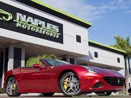 2015 Ferrari California T For Sale In Naples Fl Stock 15 207465