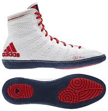 adidas wrestling shoes. adidas adizero™ varner wrestling shoes, color: wht/navy/red shoes r