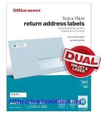 Address Label Templates Best Office Depot Address Label Template Awesome Fice Depot Brand White