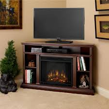 real flame churchill 50 inch corner electric fireplace with mantel dark espresso 3750e