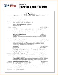 Resume Template High School Student First Job New Throughout ...