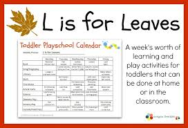 Fall Lesson Plans For Toddlers Fall Lesson Plans Rome Fontanacountryinn Com