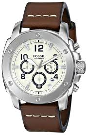 top 10 fossil watches for men fossil modern machine fs4929 men s chronograph leather watch brown