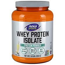 Now Foods <b>Sports Whey Protein Isolate</b> Powder (Natural Vanilla, 1.8 ...