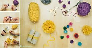 How to Make 2 Incredible Ways to Make Yarn Pom Poms - DIY & Crafts -  Handimania