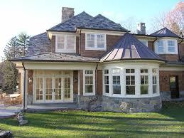 Great House Bay Windows Decor with Tuxedo Park House Bow Windows Marvin  Photo