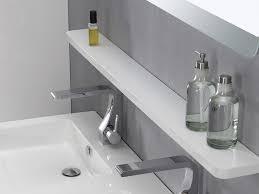 Badezimmer Ablage Weiß Haus Ideen