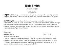Objectives For Resumes Inspiration Resume Objective Samples For Any Job Work Folous