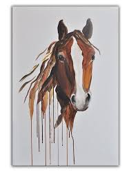 whenever i look at this piece i feel a peacefulness come over me horse paintings on canvasabstract