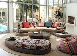 Colorful Living Room Furniture Sets Creative Unique Decorating