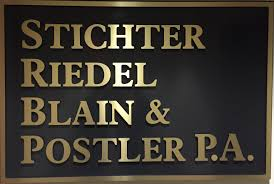 Stichter, Riedel, Blain & Postler, P.a. - Bankruptcy And Insolvency ...