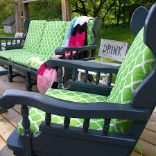 indoor to outdoor furniture diy refinishing with paint
