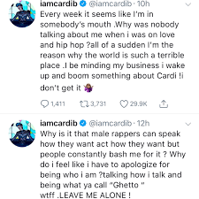 Cardi B Deletes Instagram Amid Beef With Azealia Banks: